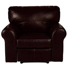 Argos Home Salisbury Leather Recliner Chair - Dark Brown