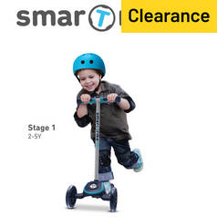 smarTrike T3 T-Scooter - Blue