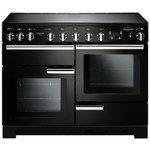 more details on Rangemaster Professional Deluxe 110cm Range Cooker - Black
