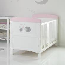 Obaby Hedgehog CotBed & Foam Mattress Pink (Argos Exclusive)