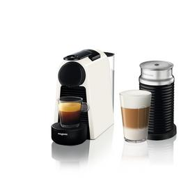 Nespresso Essenza Pod Coffee Machine Bundle by Magimix-White
