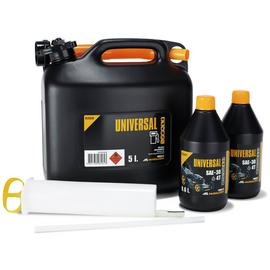 McCulloch Petrol Lawnmower Starter Set