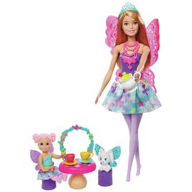 Barbie Dreamtopia Storytelling Tea Party Doll Playset