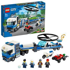 LEGO City Police Helicopter Transport Building Set - 60244