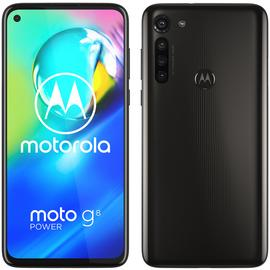 SIM Free Motorola G8 Power 64GB Mobile Phone - Smoke Black