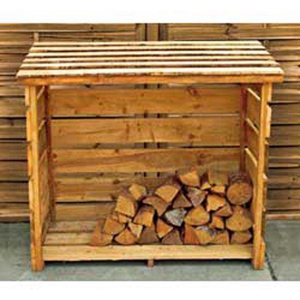 Buy Garden Wooden Log Store At Your Online