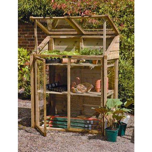 buy forest garden mini greenhouse 144 x 120 at. Black Bedroom Furniture Sets. Home Design Ideas
