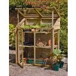 more details on Forest Garden Mini Greenhouse - 144 x 120.