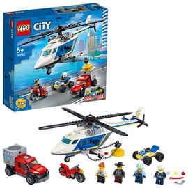 LEGO City Police Helicopter Chase Building Set - 60243 Best Price, Cheapest Prices