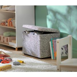 Argos Home Skandi Small Dot Ottoman