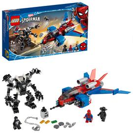 LEGO Marvel Spider-Man Jet vs. Venom Mech Playset - 76150/t