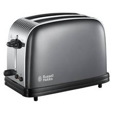 Russell Hobbs Colours+ 2-Slice Grey Toaster 23332