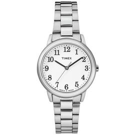 Timex Ladies' Silver Colour Easy Reader Bracelet Watch