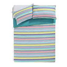 HOME Frankie Bright Stripe Bedding Set - Double
