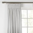 more details on HOME Ombre Unlined Pencil Pleat Curtains - 117x137cm - Slate