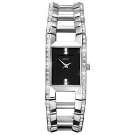 Seksy Ladies' 4710 Illusion Stone Set Bracelet Watch