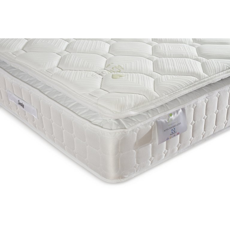 Buy Sealy Posturepedic 1400 Latex Double Mattress at Argos.co.uk - Your Online Shop for Mattresses, Bedroom furniture, Home and garden.