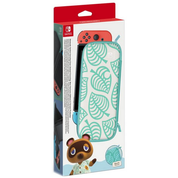 Buy Nintendo Switch Animal Crossing Case And Screen Protector
