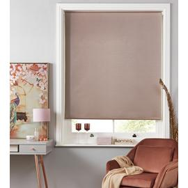 Argos Home Shimmer Blackout Roller Blind