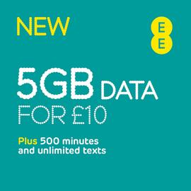 EE 4GB Pay As You Go Data Pack