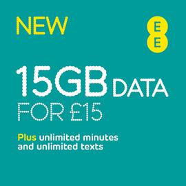 EE 8GB Pay As You Go SIM Card