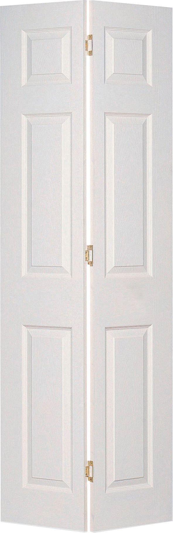jeld wen 6 panel bi fold interior door 1981 x 762mm sc 1. Black Bedroom Furniture Sets. Home Design Ideas