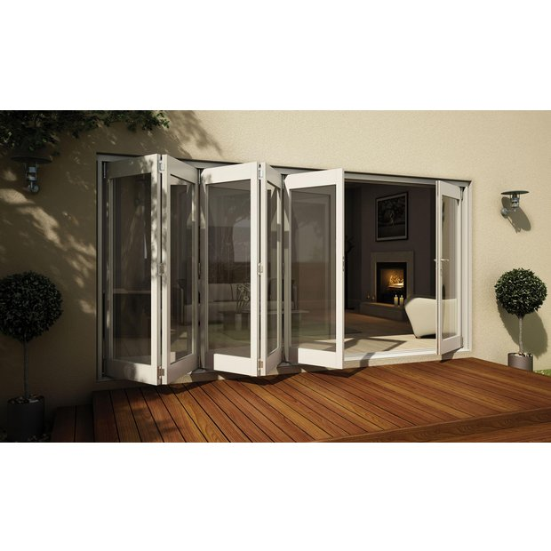 Buy Jeld Wen White Timber Folding Patio Door Set 2105 X