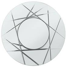 Heart of House Flint Round Grooved Wall Mirror