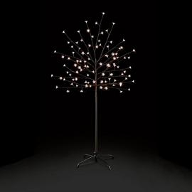 Premier Decorations 4.9ft LED Pre-lit Cherry Tree - Black