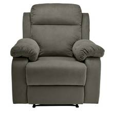 Collection New Bradley Manual Recliner Chair - Charcoal