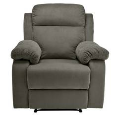 Argos Home New Bradley Manual Recliner Chair - Charcoal
