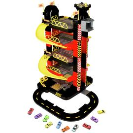 Chad Valley Deluxe 5 Level Garage & Cars Set