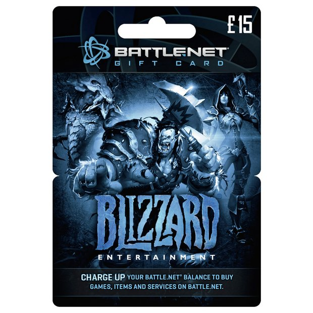 Buy Blizzard BATTLE NET £15 Gift Card | PC gaming accessories | Argos