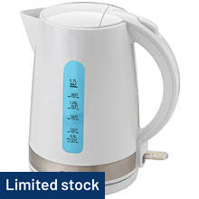 Cookworks Illumination Kettle - White