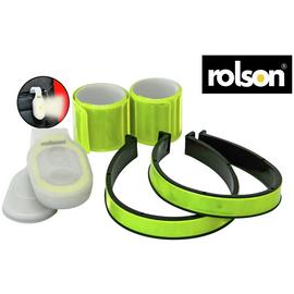 Rolson High Vis Reflector and Light