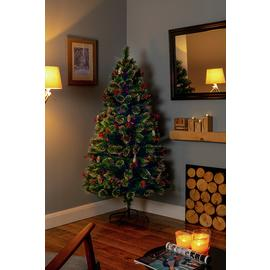 Premier Decorations 4ft LED Tipped Bottle Brush Tree - Green
