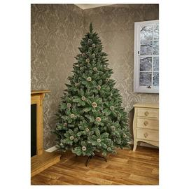 Premier Decorations 6ft Tipped Mountain Pinetree - Green