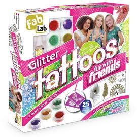 FabLab Glitter Tattoos Fun with Friends Kit