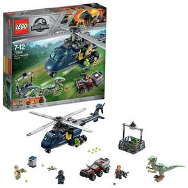 LEGO Jurassic World Blue's Helicopter Pursuit Toy - 75928