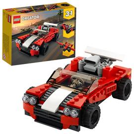 LEGO Creator 3in1 Sports Car Toy Set - 31100