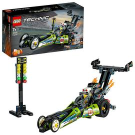 LEGO Technic Dragster Car Toy to Hot Rod 2-in-1 Set - 42103