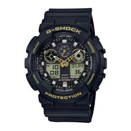 Casio G-Shock World Time Black Resin Strap Watch