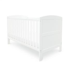 Babyhoot Coleby Cot Bed - White