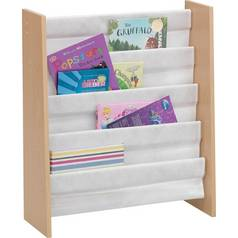 Argos Home Sling Beech Effect Bookcase