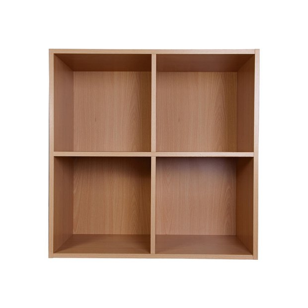 Buy Home Phoenix 2 X 2 Cube Storage Unit Beech Effect At Your Online Shop For