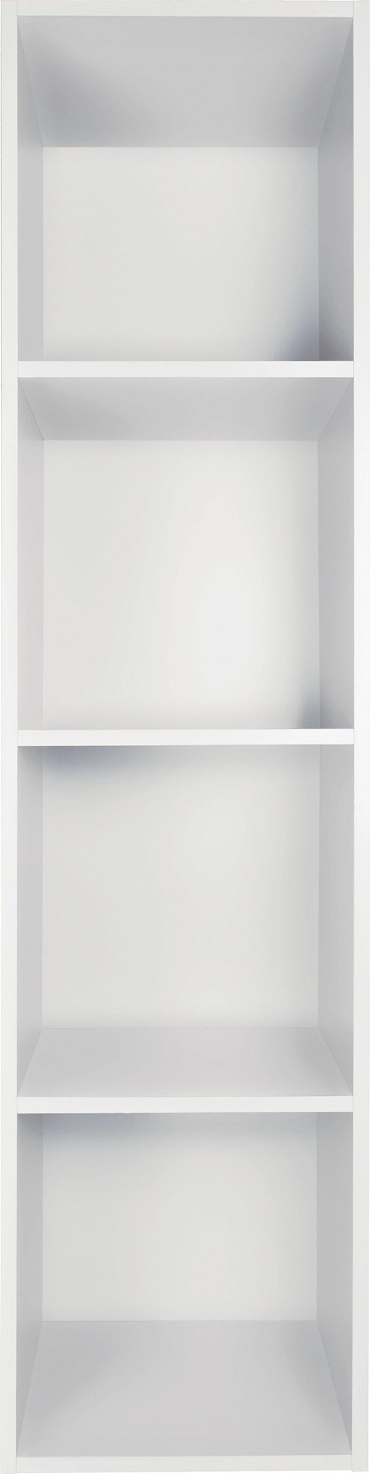 home phoenix 4 cube storage unit white