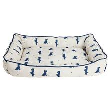 Alfie Square Medium Cream Pet Bed