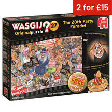 wasgij original 27 anniversary special puzzle 2 pack