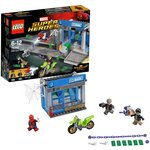 more details on LEGO Super Heroes Spider-Man ATM Heist Battle - 76082