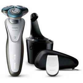 Philips Series 7000 Wet & Dry Men's Electric Shaver S7710/26 with SmartClean system & Precision Trimmer (UK 2-Pin Bathroom Plug) Best Price and Cheapest